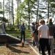 Посещение мемориального комплекса в д.Борки
